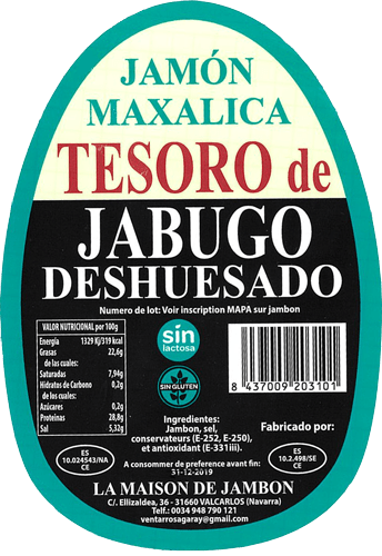 Jambon Deshuesado
