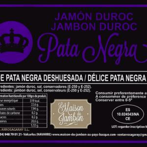 Jambon Pata Negra